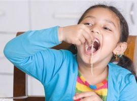 Làm sao để trẻ hết biếng ăn, viêm đường hô hấp