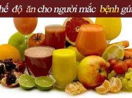 Bệnh gút và chế độ ăn uống