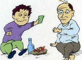 Hỏi: Bố em cứ uống rượu là biến thành người khác, nói nhiều