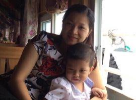 Con khỏe mạnh nhờ tình yêu của mẹ