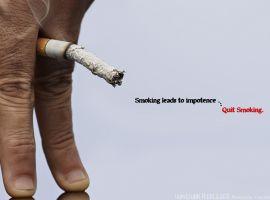 Hút thuốc lá khiến nam giới bị yếu sinh lý