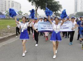Người Sài Gòn đi bộ kêu gọi phòng ngừa suy giãn tĩnh mạch