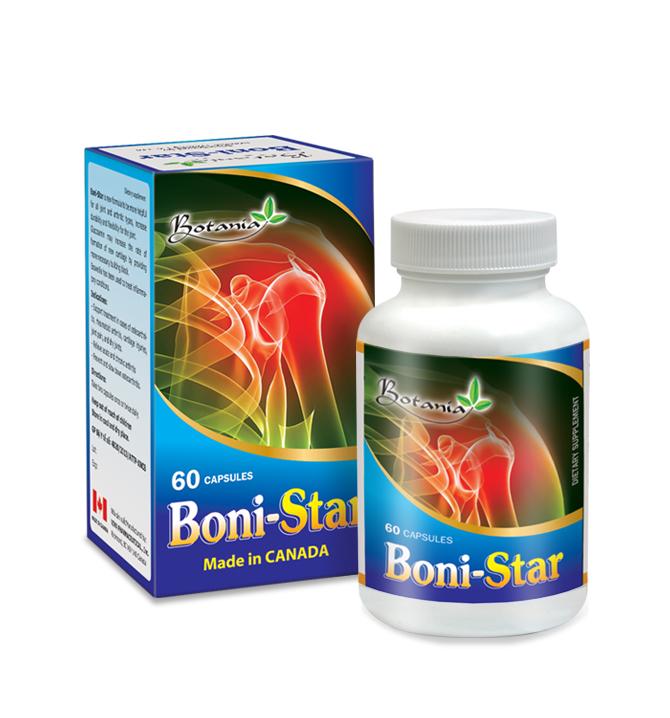 BoniStar + - dùng cho người lớn bị thoái hóa khớp, khô khớp