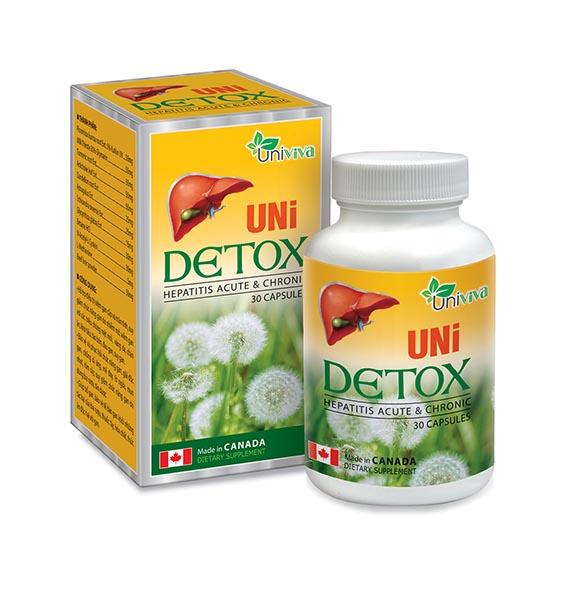 UniDetox bổ gan, phục hồi chức năng gan